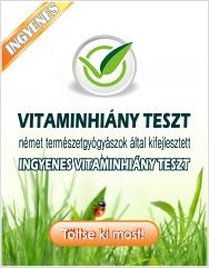 Vitaminhiány teszt