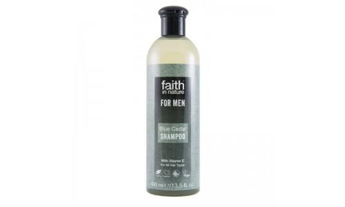 Faith For Men - Kék Cédrus Sampon Férfiaknak (400ml)