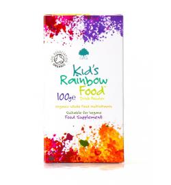 Kid's Rainbow Food organikus multivitamin gyerekeknek 100g por (G&G)