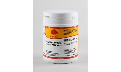 C-vitamin 500mg (kalcium aszkorbát) 100 kapszula (G&G)