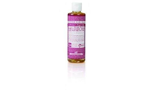 Dr. Bronner's Rózsa folyékony szappan koncentrátum (236 ml)